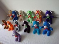 3 000 peluches oursons en stock direct usine