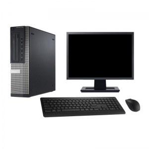 DELL OPTIPLEX 7010 DT I7 RAM 8GO - HDD 500GO AVEC ECRAN 22 POUCES CLAVIER & SOURIS