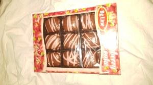 Lot Destockage biscuits moelleux fraise caramel 210g