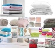 Lot de linge de maison : Linge de lit (Draps , housses , couettes…) Linge de bain (Serv...)