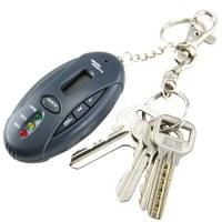 Alcootest voiture Porte-clés - Lampe de poche + Chronomètre