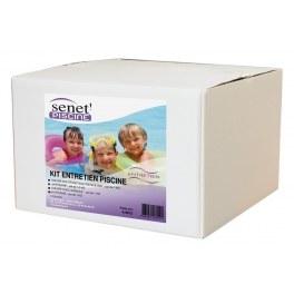 Kit d'entretien piscine - 4 produits - accessoires