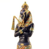 Pharaon avec Fléau, Miroirs
