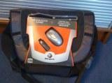 Sacoche pc portable targus + souris optique sans fil