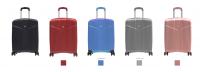 Valise cabine 55 cm rigide pas cher serrure à code ultra léger multi-couleurs