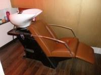 Bac de lavage avec système de massage Shiatsu