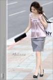 La chemise du style de la mode de coréen