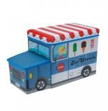 Boîte de rangement - marchand - bleu