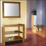 Meuble de salle de bain chêne complet