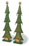 Lot de 2 Sapins de Noël