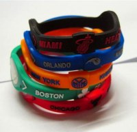 Power Balance Bracelet Silicone Wristband NBA Team