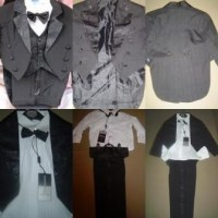 LOT DE 12 COSTUMES GARCON 5 PIECES