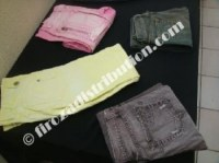 Lots de pantalons jeans couleurs USED