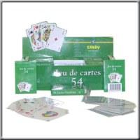 Présentoir de 24 Jeux de 54 Cartes