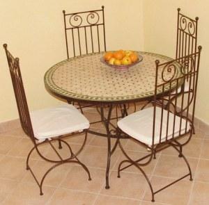 Tables en zellij(juste plateau)