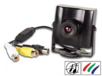CAMERA SURVEILLANCE VIDEO AUDIO COULEUR 12V 1/3'' VIDEO SURVEILLANCE CAMERAS SURVEILLAN...