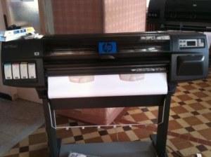 TRACEUR HP Designjet 1055Cm A0/363