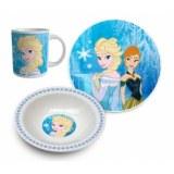 Set de déjeuner elsa - 3 pièces - la reine des neige