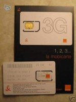 LOT DE CARTE SIM ORANGE NEUVE 2.5 EURO