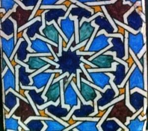 Zellige marocain