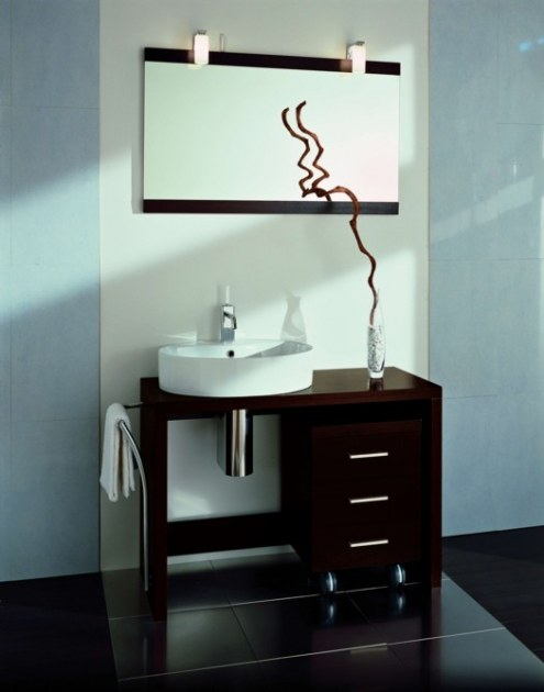 Meuble salle de bain luxe art tech design destockage grossiste for Destockage meuble de salle de bain