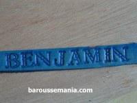 Prénom sur bracelet en cuir