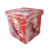 Boite en bois déco Marilyn monroe cinema Hollywood