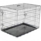 Cage ou caisse de transport pour chien et chat
