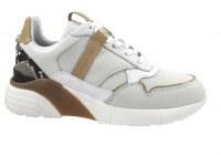 Chaussures de sport en cuir fabriquées en Europe pour femmes