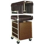 Chariot pour tables Mairietables rectangulaires
