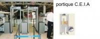 Portique détecteur métal CEIA