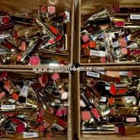 Lot Rouges à lèvres de marque 25 pièces