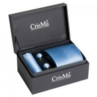 SET HOMME CRAVATE BLEU CIEL