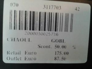 Très beau stock CAMOMILLA Milano - Marque italienne