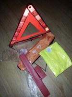 17000 Kits Gilets + Triangles de signalisation