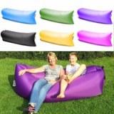Lamzac sofa pouf gonflable en 10s