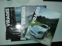 Lot de revues automobile VIRAGES neuves
