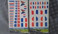 Stickers drapeau supporter