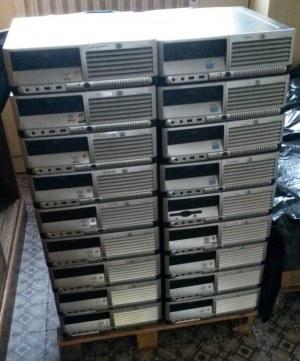 5x HP dc7600 SFF p4 3.2ghz 1024ram 80DD