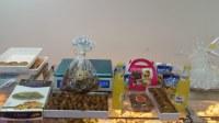 Dattes fraîches branchées Deglet Nour d'Algérie