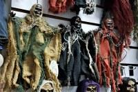 Lot de sorcières walking dead squelettes tissu son et lumière