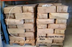 Poignées de fenetre en PVC