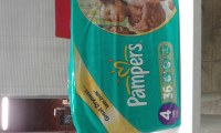 Pampers taille4 36 pieces
