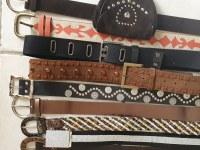 Palette de 3000 ceintures synthétiques mixées