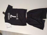 Lot ensemble maillot + short taille enfant football