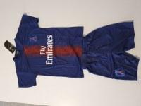 Ensemble maillot + short taille enfant football