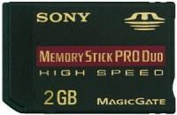 Sony Memory Stick duo pro 2Gb high speed
