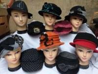 LOT de chapeaux femme 1er choix à petit prix