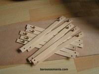 Lot de 10 bracelets en cuir à décorer