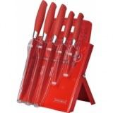 Ensemble de couteaux de qualité avec planche à découper- lot de 5 -